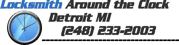 Locksmith Around the Clock Detroit MI   (248) 233-2003
